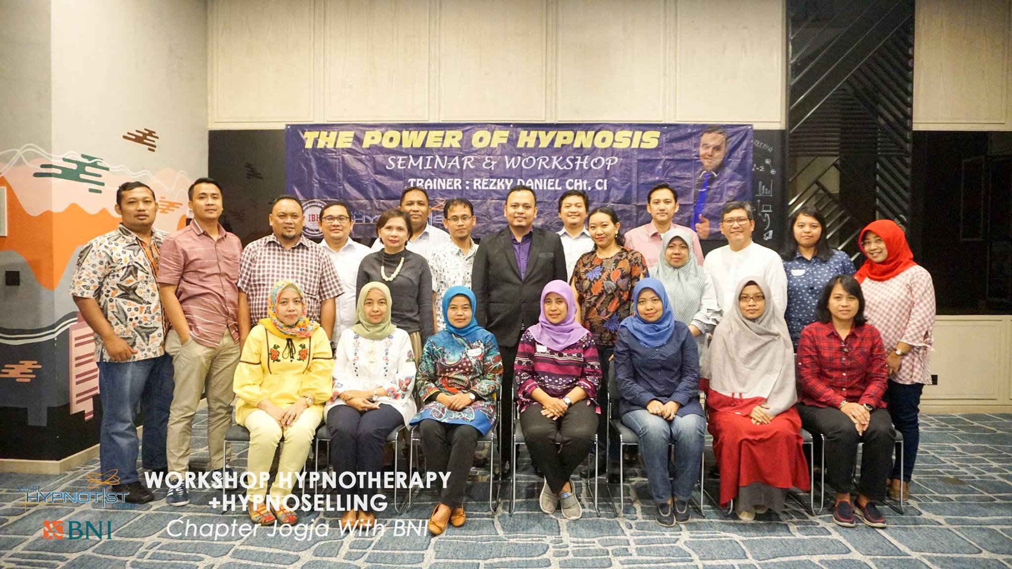 Dokumentasi Workshop Hypnotherapy bni